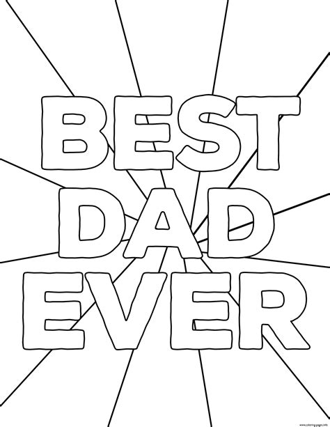 fathers day coloring pages printable best fathers day coloring pages printable