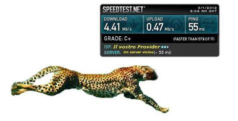 testare velocitã velocit 224 della connesione testare con siti