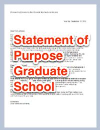 Is An Mba Considered Graduate School by See How To Write A Statement Of Purpose Graduate
