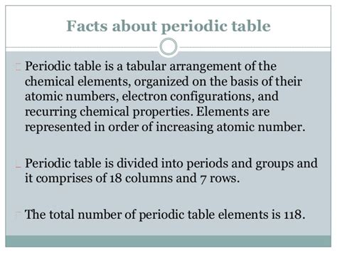 Periodic Table Information by Reina Newlands Discoverer Of Periodic Table
