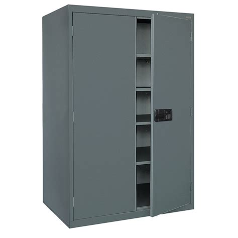 Electronics Storage Cabinet Sandusky Ea4e462478 02 Elite Series Keyless Electronic Welded Storage Cabinet 46 Quot Width X