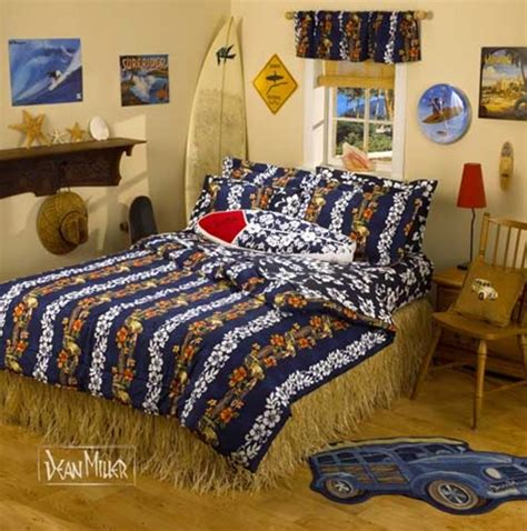 surfer bedding set by surf designer dean miller
