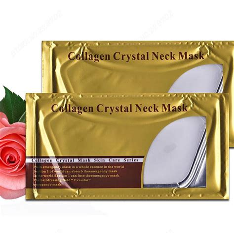 Collagen Chest Mask collagen 24k gold neck mask gold cosmetics