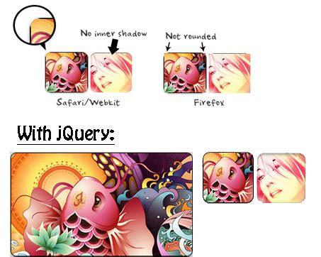 redondear imagenes html redondear esquinas de imagenes con jquery y css3 rounded