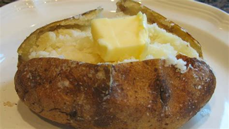 perfect baked potato recipe no foil baked potato method