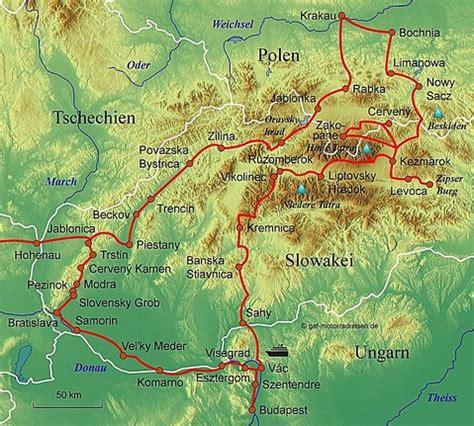 Slowakei Motorrad by Motorradreise Slowakei Gef 252 Hrte Motorradtouren