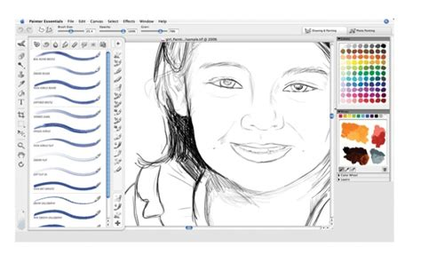 drawing and painting free corel painter essentials 4 win mac