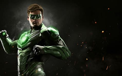 green wallpaper video games desktop wallpaper green lantern injustice 2 video game