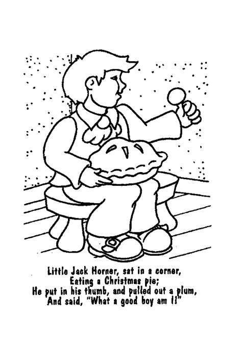 preschool coloring pages jack and jill nursery rhyme coloring pages bestofcoloring com
