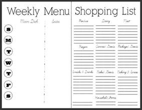 monthly dinner menu template 45 printable weekly meal planner templates baby