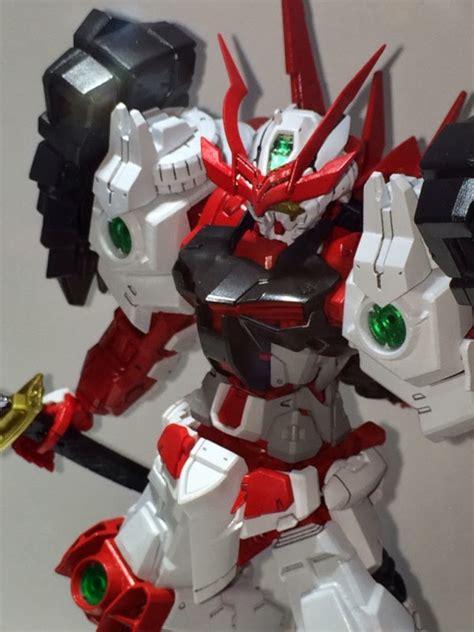Bandai Mg 1100 Sengoku Astray Gundam gundam build fighters mg 1 100 sengoku astray gundam in 2 2014 anime news