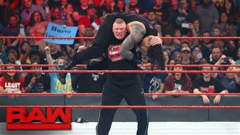 brock lesnar bench brock lesnar confronts multiple raw superstars raw