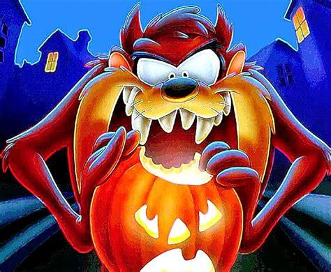 wallpaper cartoon devil halloween tasmanian devil hd cartoon wallpaper