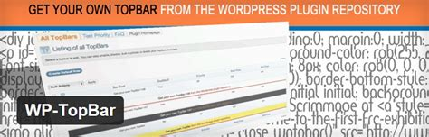 top bar plugin how to use top bar plugin for marketing in wordpress website