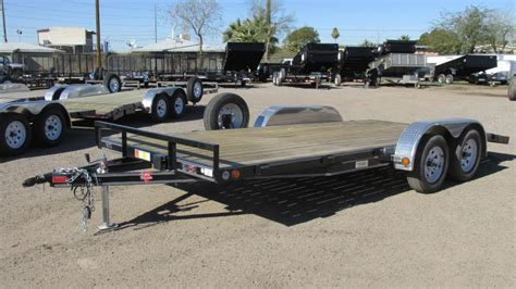 flat bed trailer rental trailers flatbed dump utility and cargo trailers in