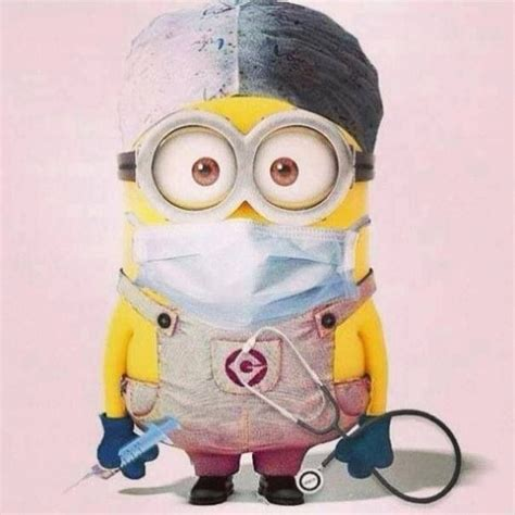 imagenes de minions medicos great for get well wishes dr minion minions