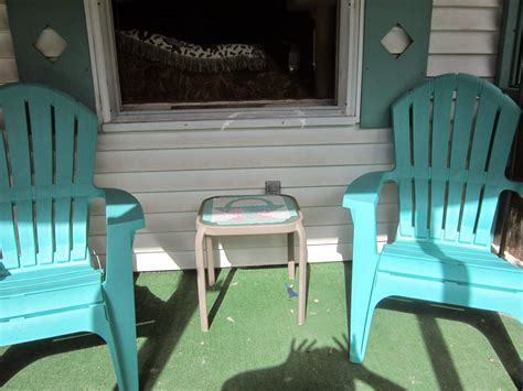 Front Patio Chairs Furniture Best Front Porch Furniture With Green Plastic Chairs And Small Table Plus Green