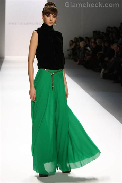 emerald green maxi skirt on the hunt