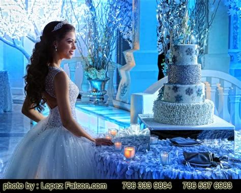 winter themed quinceanera cakes winter wonderland quinceanera party theme sweet 15