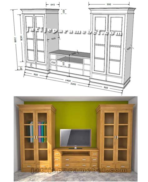 design buffet minimalis buffet tv minimalis kombinasi lemari pakaian