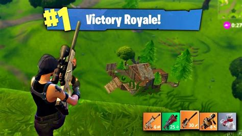 my fortnite battle royale gameplay victory royale
