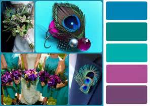 peacock wedding colors gallery june wedding colors peacock