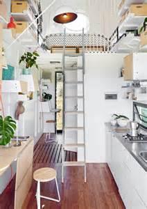 Tiny Home Interiors Offene K 252 Che Im Tiny House Roomido Com