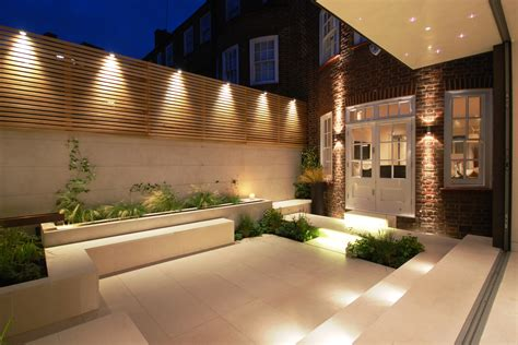 Minimalist Garden Lighting Ideas Outdoor Lighting Garden Wall Lighting Ideas