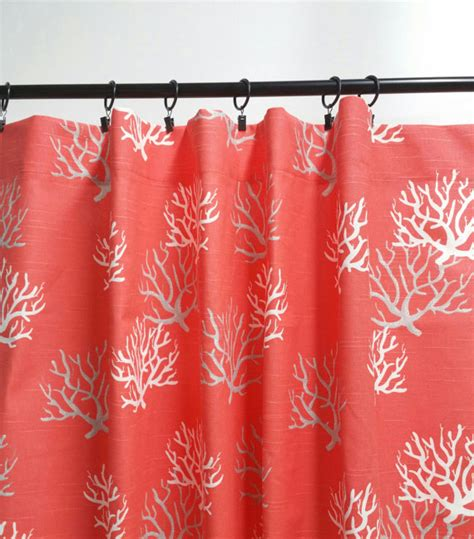 Coral Patterned Curtains Coral Patterned Curtains Coral Quatrefoil Pattern Shower Curtain By Printcreekstudio Pin By