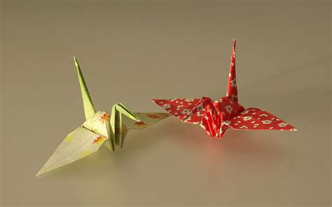 Japanese Cranes Origami - origami for japan cpcc library