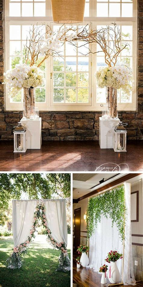 wedding backdrop ideas  ceremony reception