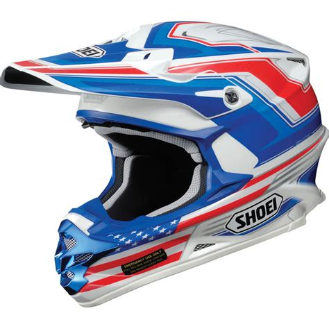 shoei motocross helmet shoei vfx w salute motocross mx enduro road atv