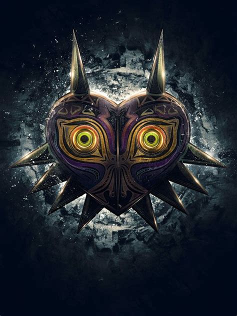 majoras mask legend of majora s mask epic poster signed museum
