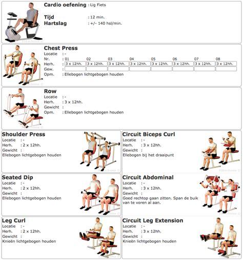 roeien afvallen schema klikschema 187 trainingsprogramma s 187 personal training