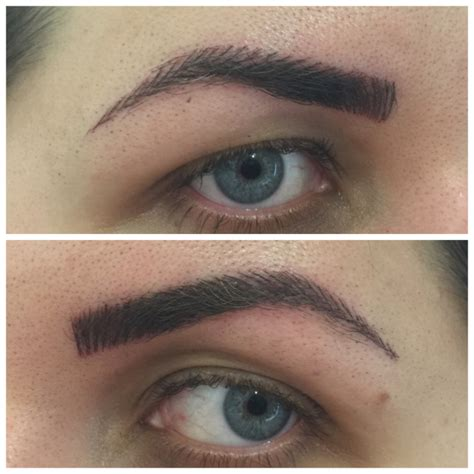 tattoo eyebrows process my eyebrow story part 3 the day i go my eyebrows
