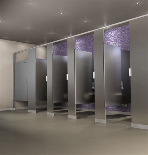 bathroom division scranton products hiny hider toilet partition shown in