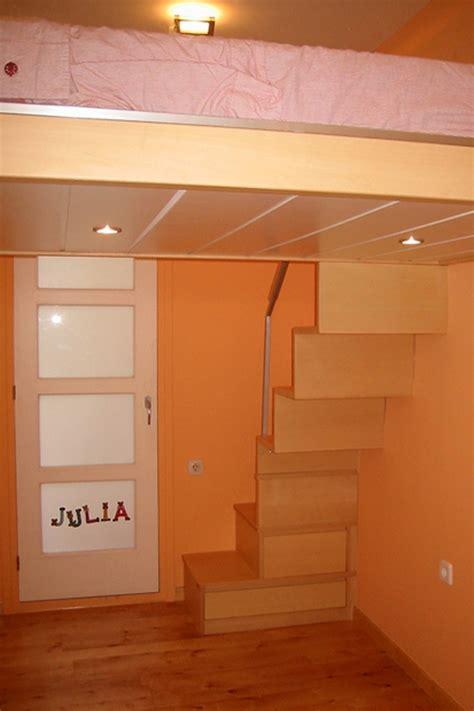 dormitorio juvenil nina  cama elevada elisabet