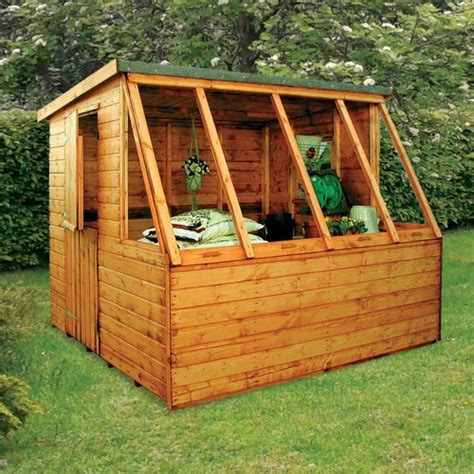 Pent Potting Shed by Albany Dual Pent Potting Shed