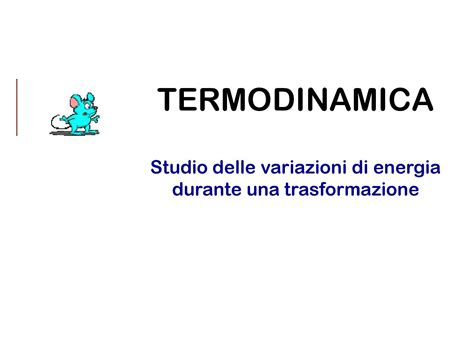 dispense termodinamica termodinamica principi e sistemi dispense