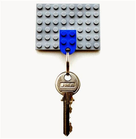 membuat gantungan kunci lego daur ulang barang bekas menjadi interior rumah selamat