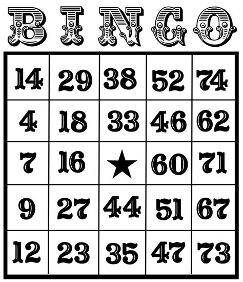 free bingo cards templates christine zani bingo card printables to