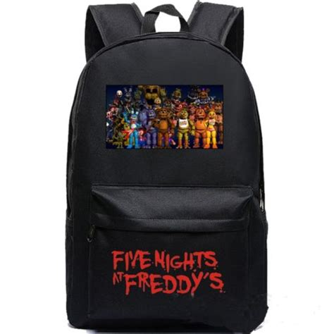 fnaf backpack five nights at freddy s backpack freddy chica foxy fnaf