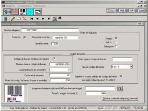 codigo de imagenes de html codigo de barras lite 1 0 imprime etiquetas con c 243 digo de
