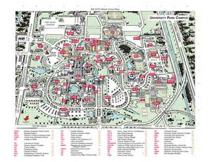 University Of Florida Map by Florida International University Campus Map Florida