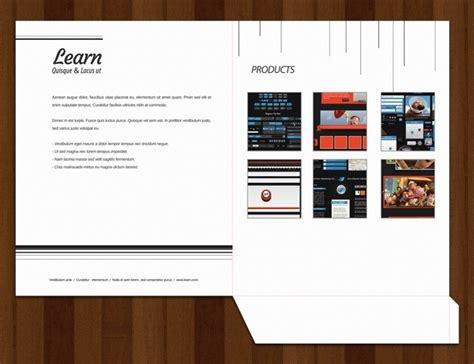brochure folder template folder design