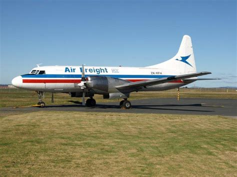 3rd level new zealand air freight s convairs end of a colour scheme