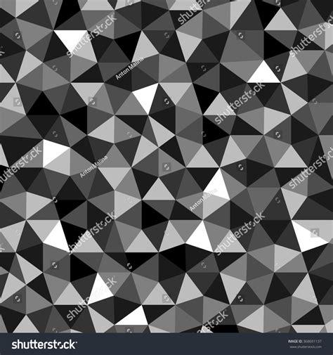 polygon pattern vector black polygon pattern stock vector 368691137 shutterstock
