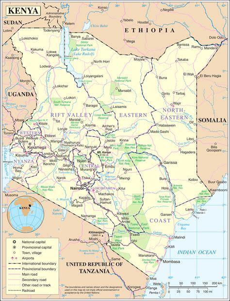 In Kenya geography of kenya