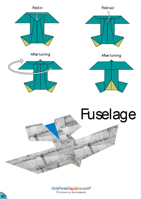 How To Make A Paper Plane That Comes Back - paper airplane fuselage summer activities