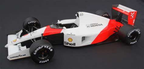 Amalgam 1:8 1991 McLaren MP4 6 Ayrton Senna Japanese Grand Prix Championship Win   Diecast Zone